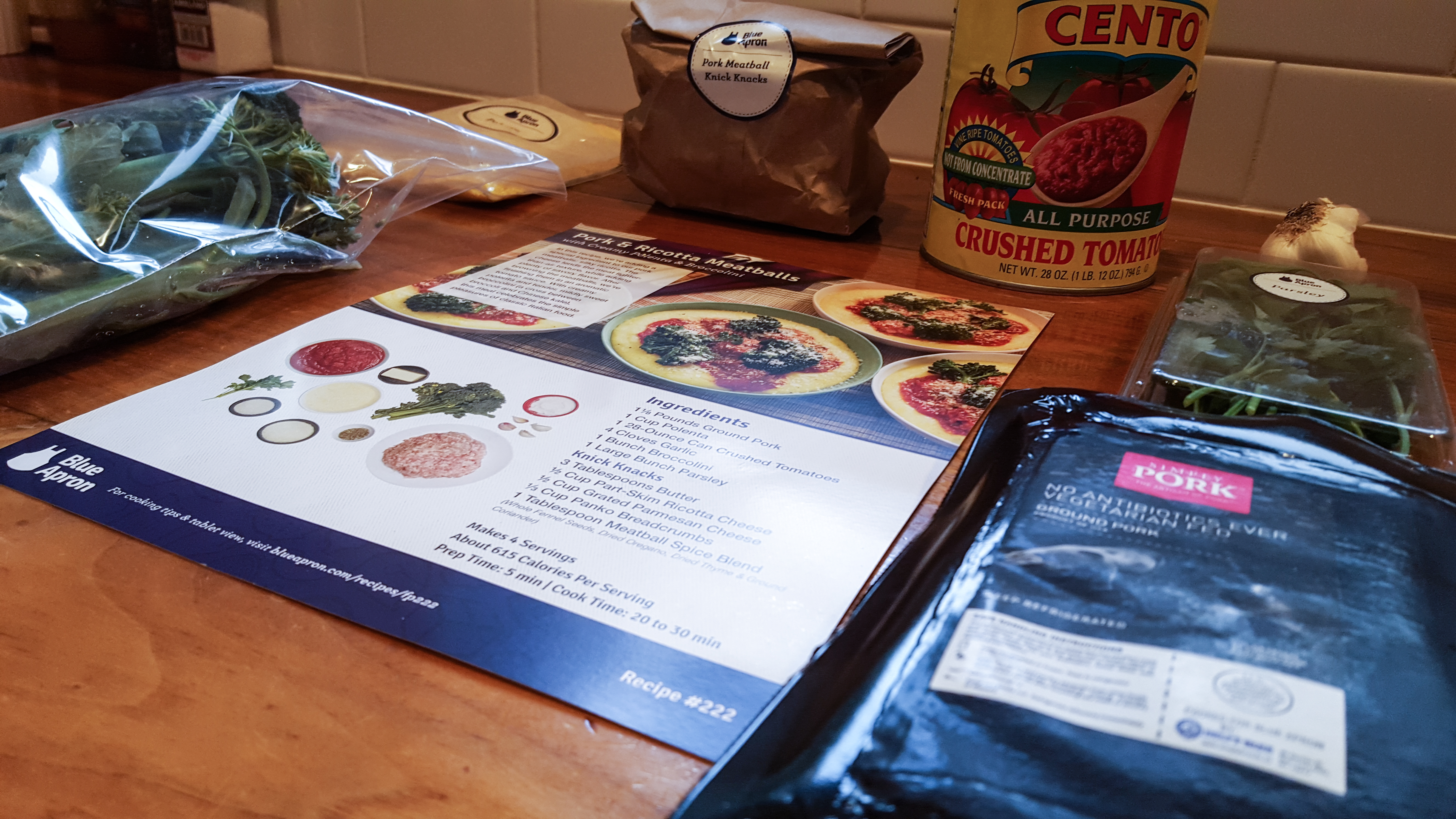 Blue apron delivery time - Northwest Pearls Blue Apron Meatballs