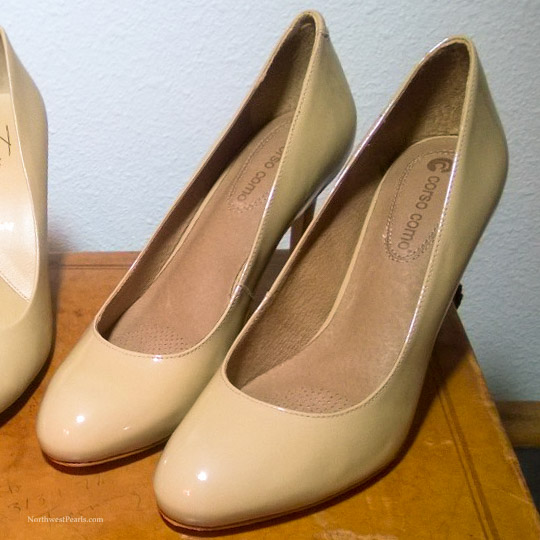 Northwest Pearls: Patent Leather Shoe Scuffs
