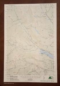 Northwest Pearls: Birthday Card Map